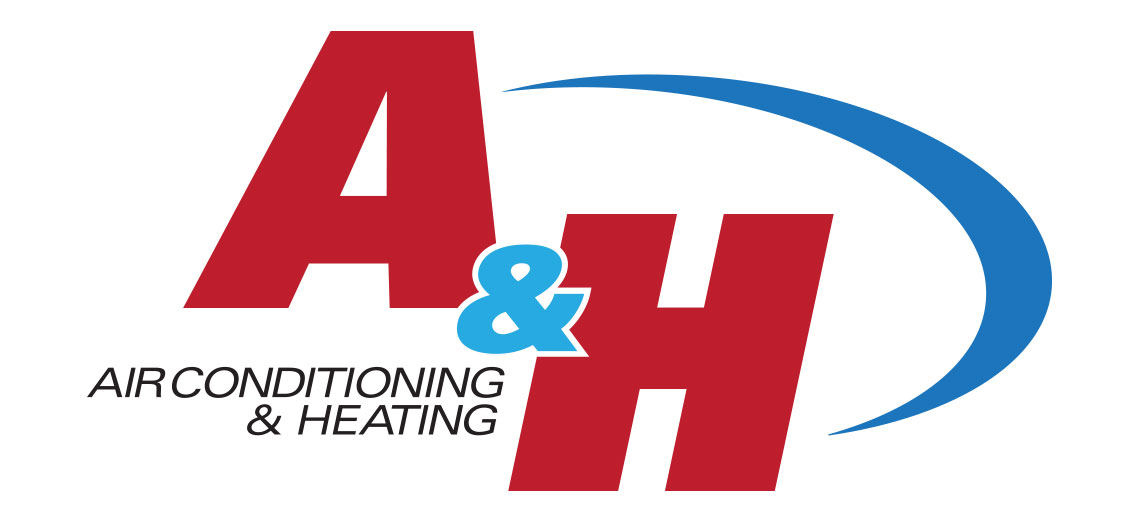 A and H Air Conditioning and Heating Logo