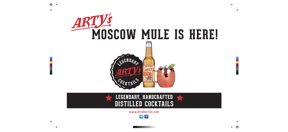 Arty's Moscow Mule Banner