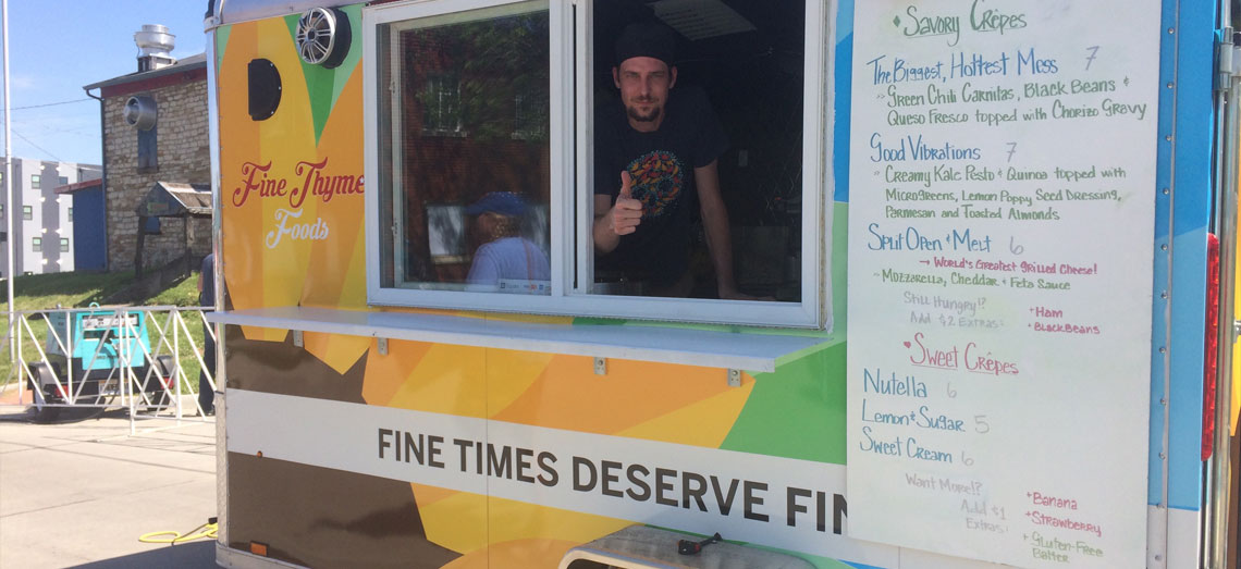 Fine Thyme Foods Truck Wrap