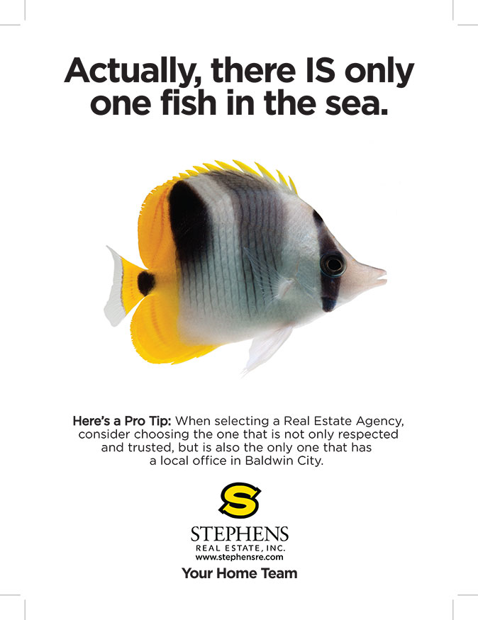 One Fish Ad Campaign Stephens Real Estate