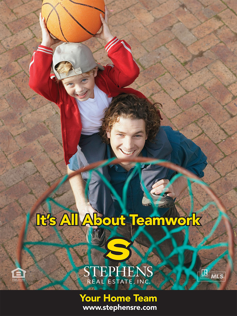 Stephens Team Work Ad