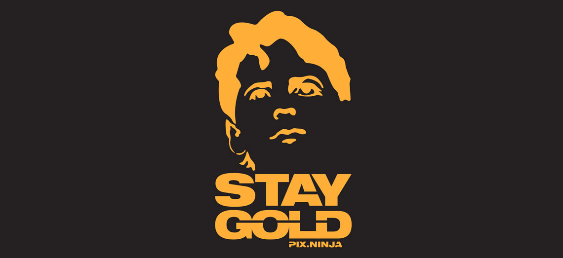 Stay Gold Wallpaper