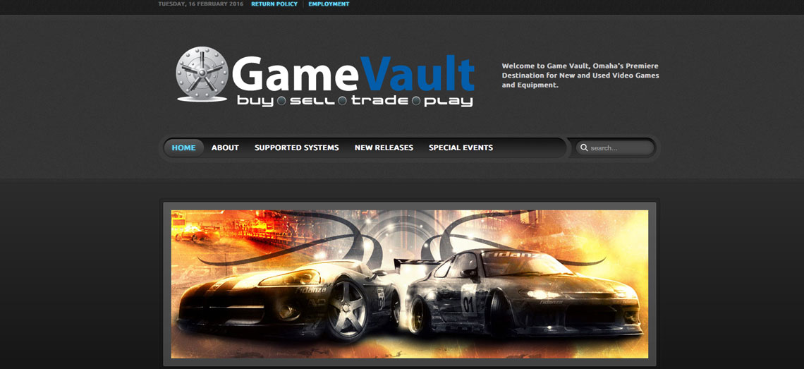 Game Vault Screen Shot