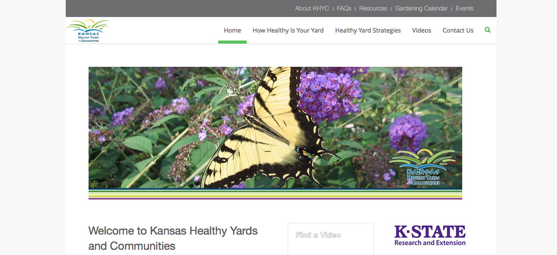 Kansas Healthy Yards and Communities Screen Shot