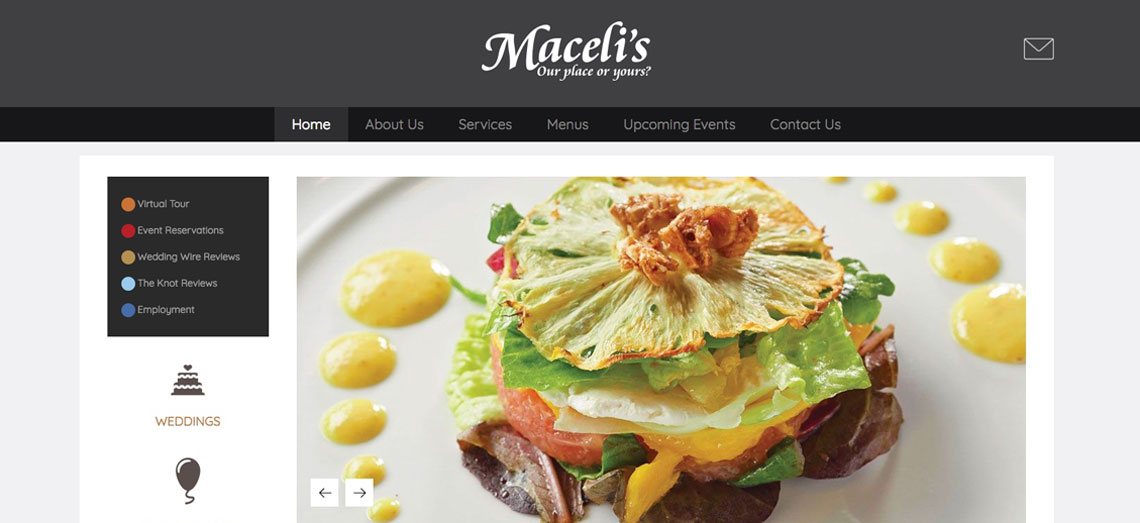 Maceli's Website Design
