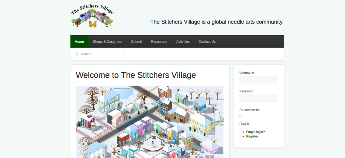 Stitchers Village Screen Shot